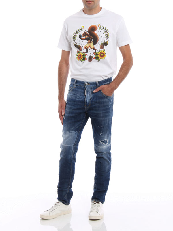 Skinny Jeans - Light Wash shop online: DSQUARED2
