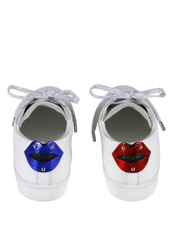 Sneaker - Weiß shop online: Saint Laurent
