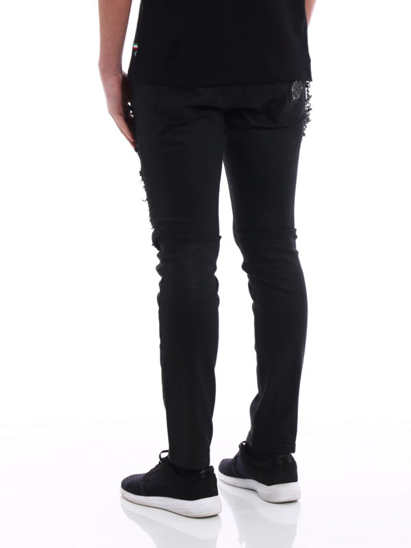 Straight Leg Jeans - Schwarz shop online: PHILIPP PLEIN