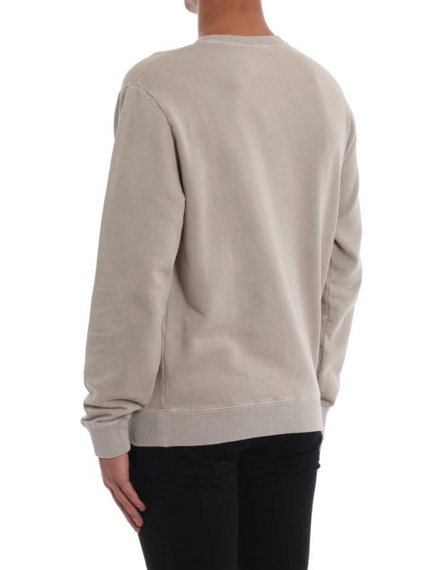 Sweatshirt - Beige shop online: SAINT LAURENT