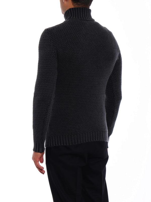 Soft merino wool turtleneck shop online: DRUMOHR