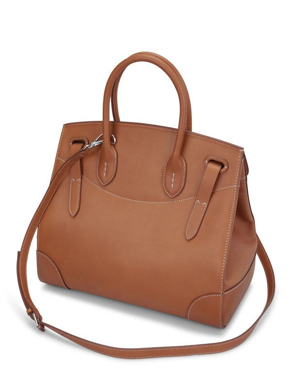 Soft Ricky 33 leather bag shop online: Ralph Lauren