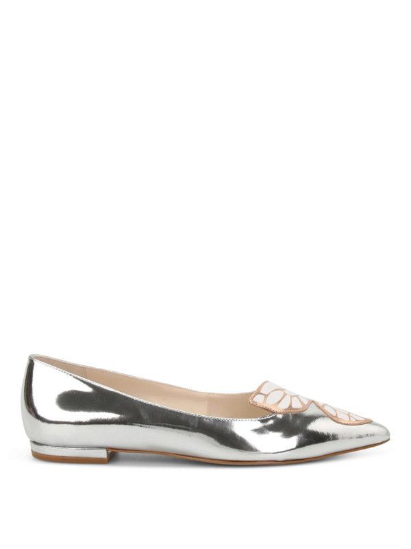 Sophia Webster: Ballerinas - Ballerinas - Silber
