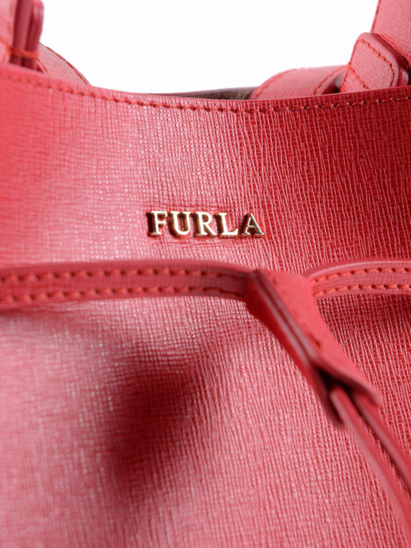 Bucket-Bag - Rot shop online: Furla