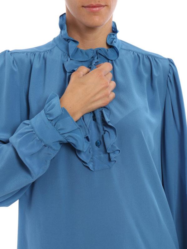 Stella Mccartney buy online Bluse - Hellblau