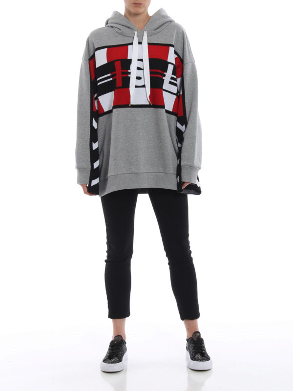 STELLA McCARTNEY: Sweatshirts und Pullover online - Sweatshirt - Grau