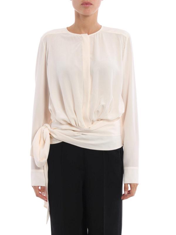 Stella Mccartney: Hemden online - Hemd - Hellbeige