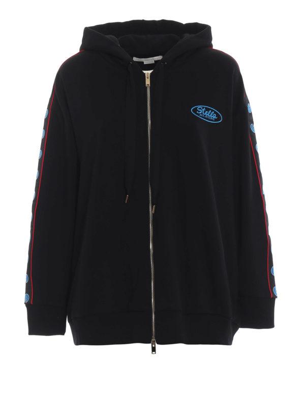 STELLA McCARTNEY: Sweatshirts und Pullover - Sweatshirt - Schwarz
