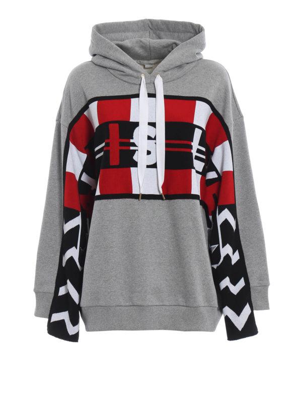 STELLA McCARTNEY: Sweatshirts und Pullover - Sweatshirt - Grau