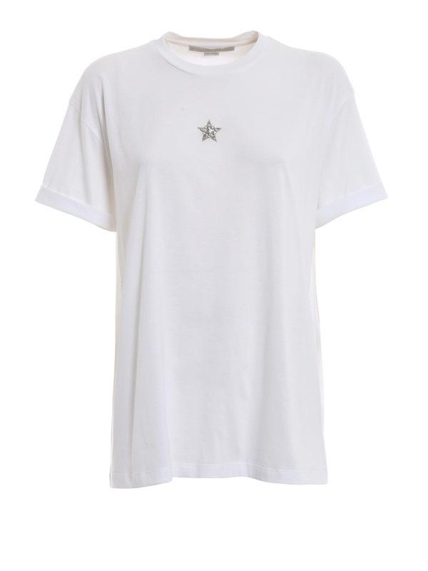 STELLA McCARTNEY: T-shirts - T-Shirt - Weiß