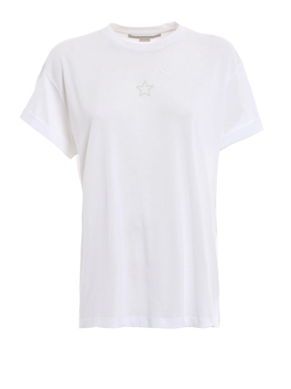 STELLA McCARTNEY: T-shirts - T-Shirt - Weiß