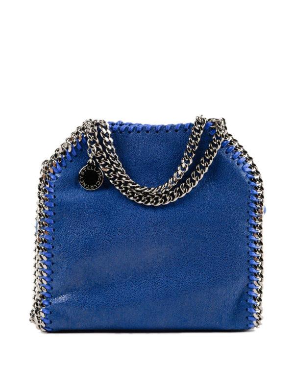 STELLA McCARTNEY: Handtaschen - Shopper - Hellblau