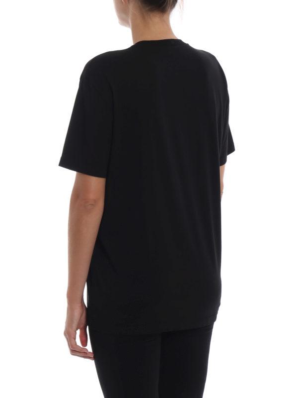 T-Shirt - Schwarz shop online: STELLA McCARTNEY