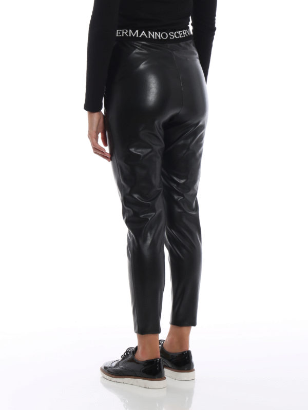 Leggings - Schwarz shop online: ERMANNO SCERVINO
