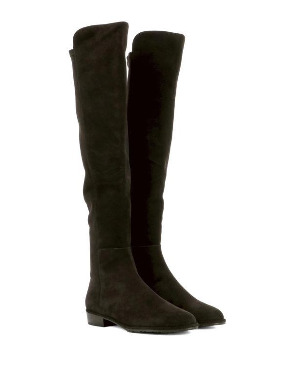 Stuart Weitzman: boots online - Allgood brown suede boots