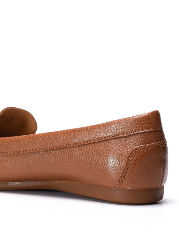 Suki leather loafers shop online: Michael Kors