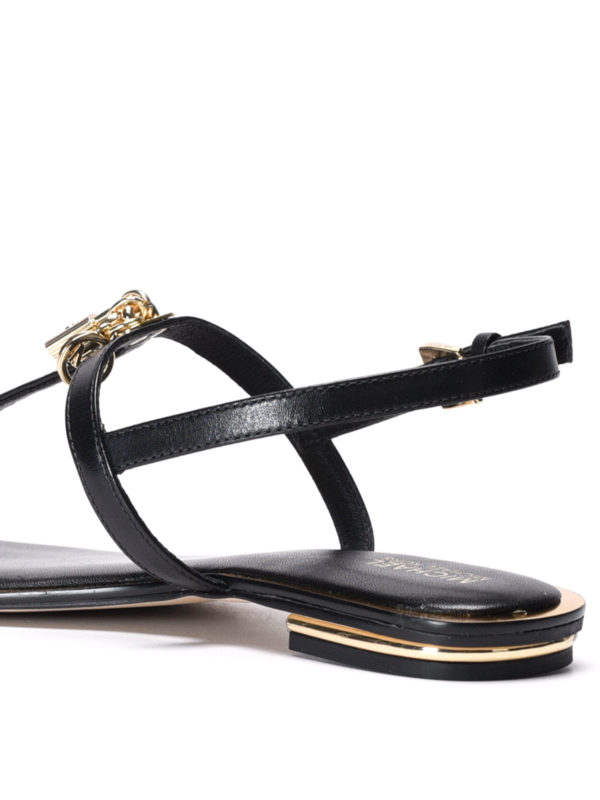 Suki leather thong sandals shop online: Michael Kors