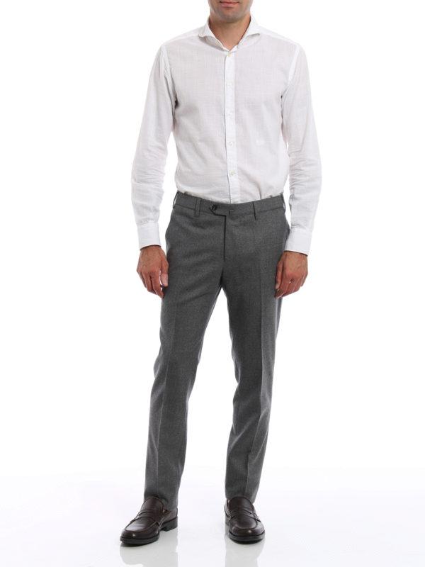 Formale Hose - Grau shop online: Pt 01