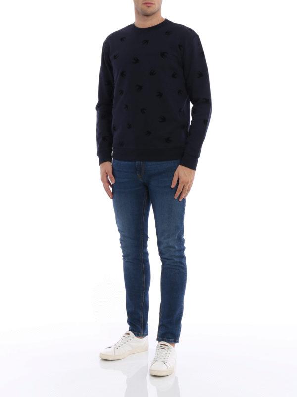 Sweatshirt - Dunkelblau shop online: MCQ