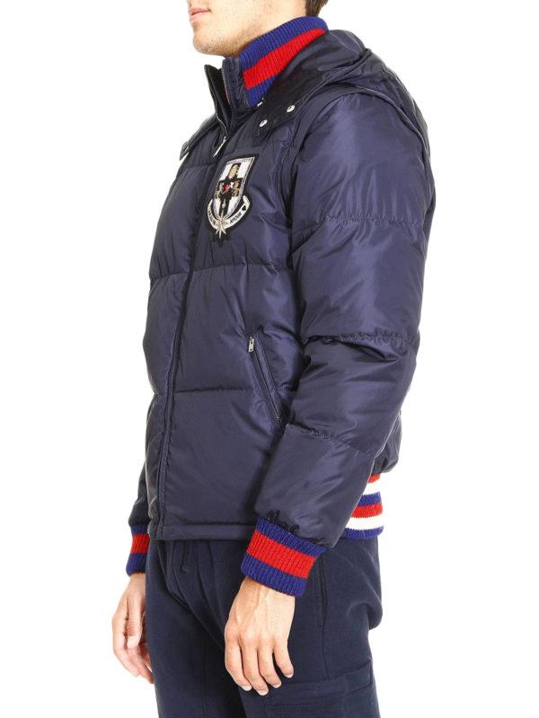 Sylvie Web puffer jacket shop online: Gucci