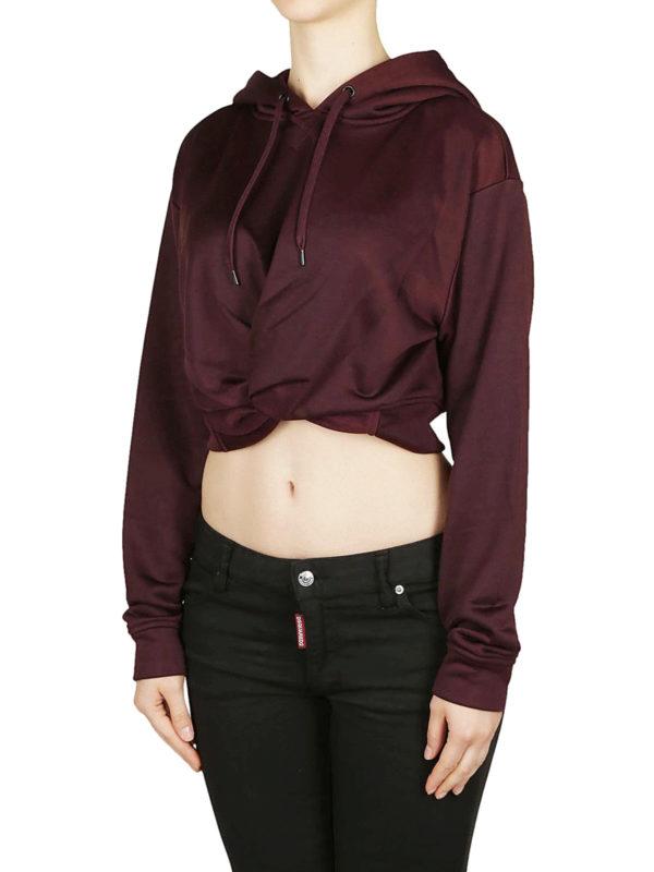T BY ALEXANDER WANG: Sweatshirts und Pullover online - Sweatshirt - Bordeaux