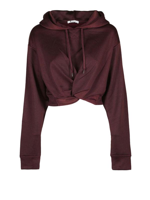T BY ALEXANDER WANG: Sweatshirts und Pullover - Sweatshirt - Bordeaux