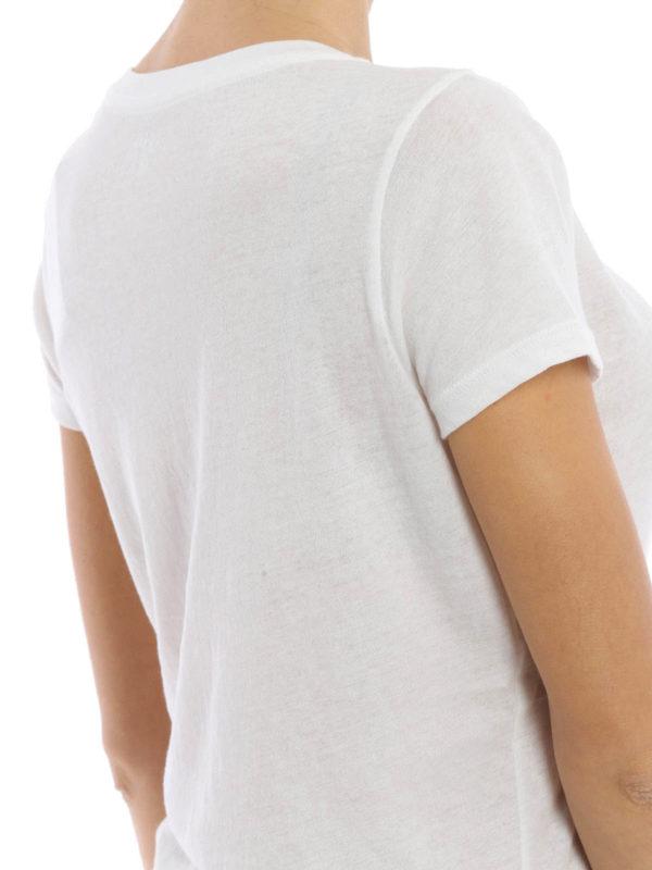 T shirt con logo goffrato polo ralph lauren t shirt ikrix for V neck t shirt online shopping