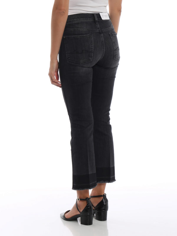 Straight Leg Jeans - Dunkelgrau shop online: 7 FOR ALL MANKIND