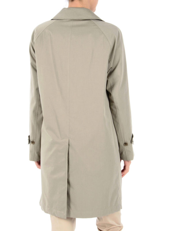 The Camden beige car coat shop online: Burberry