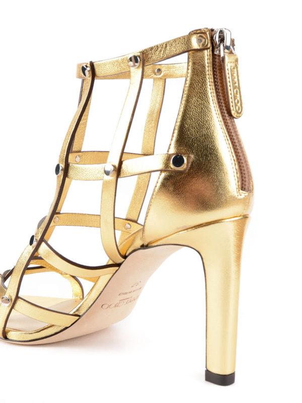 Sandalen - Gold shop online: JIMMY CHOO