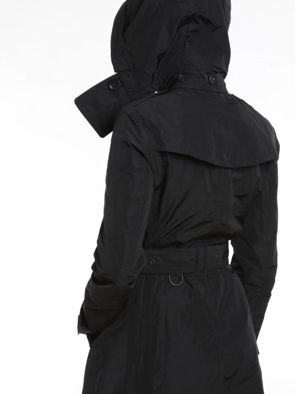 Trenchcoats shop online Trenchcoat Fur Damen - Schwarz