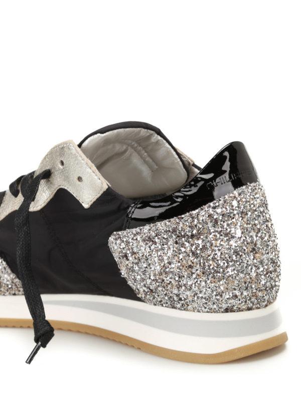 sneaker tropez nere e oro philippe model sneakers ikrix. Black Bedroom Furniture Sets. Home Design Ideas