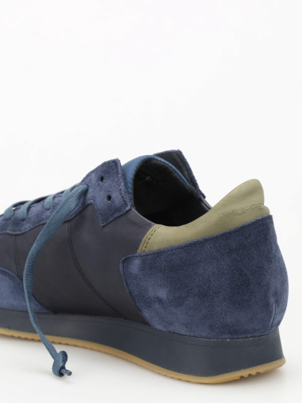 Sneaker - Blau shop online: Philippe Model