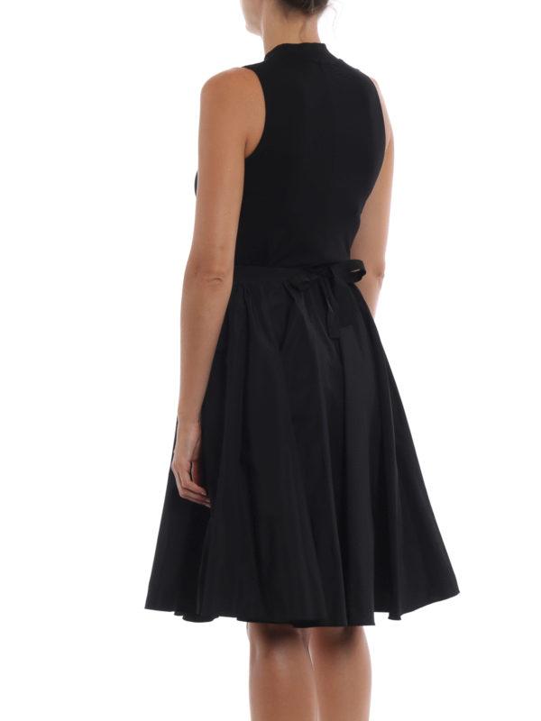 Knielanges Kleid - Schwarz shop online: Max Mara