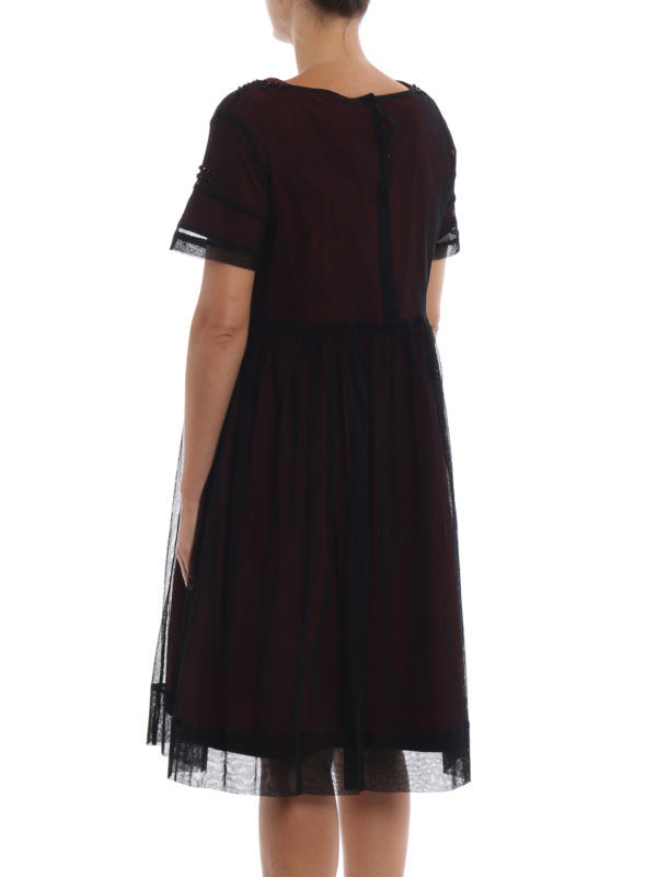 Knielanges Kleid - Bordeaux shop online: Max Mara