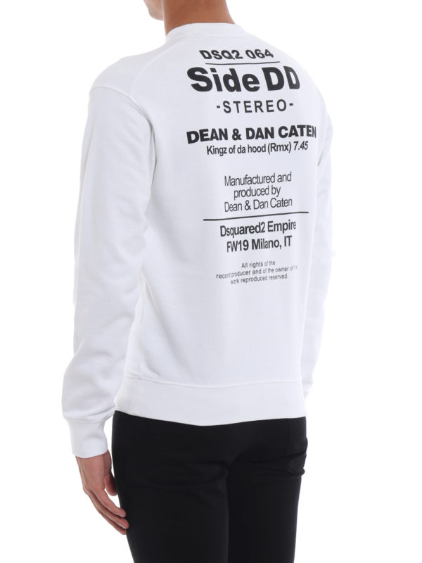 Sweatshirt - Weiß shop online: DSQUARED2