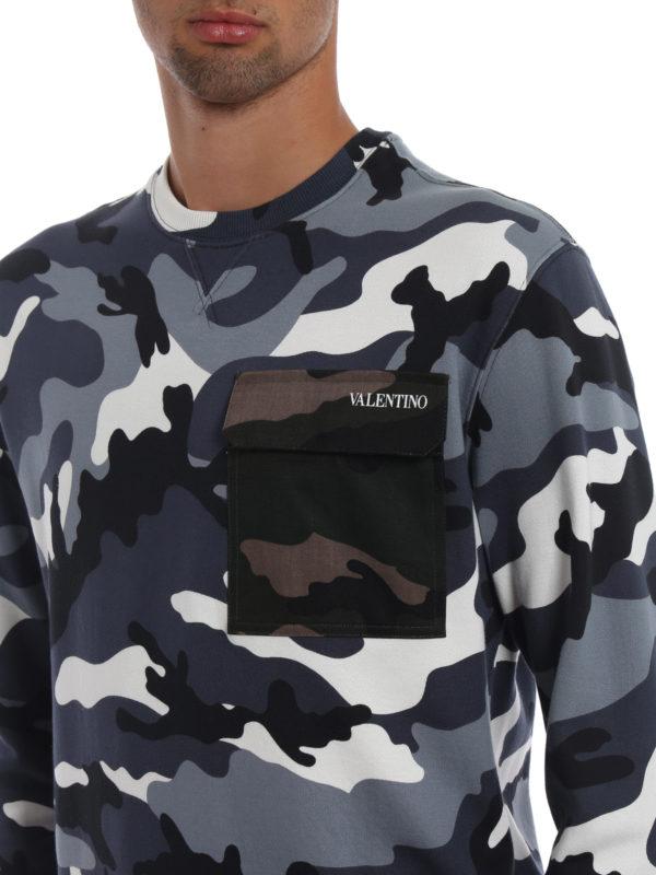 VALENTINO buy online Sweatshirt - Gemustert