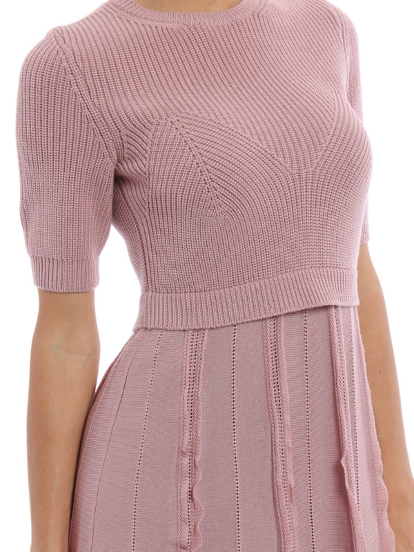 Valentino buy online Knielanges Kleid - Einfarbig