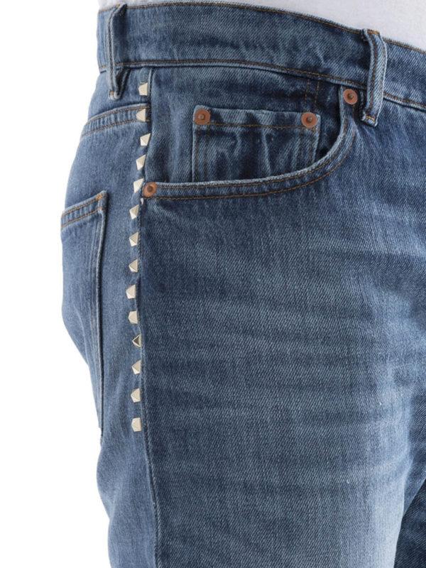 Valentino buy online Straight Leg Jeans - Light Wash