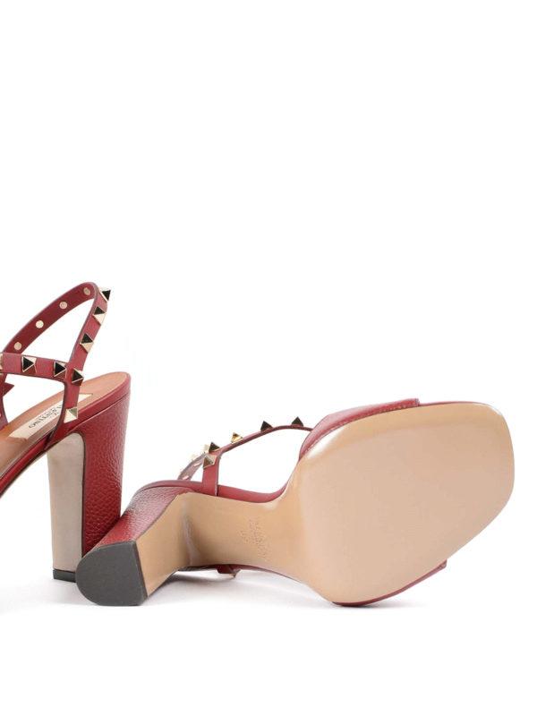 VALENTINO GARAVANI buy online Sandalen - Rot