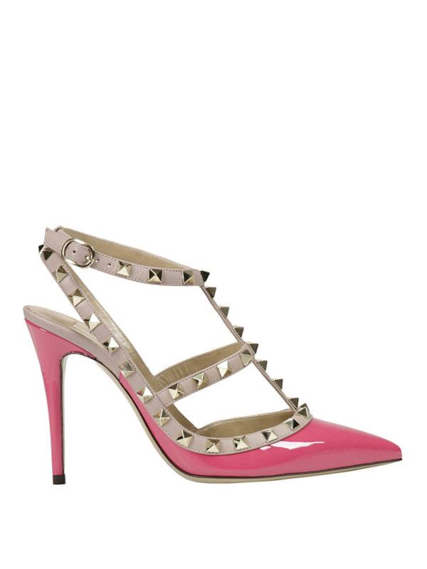 Valentino Garavani - Rockstud court shoes - court shoes ...