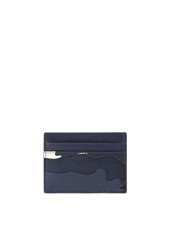 VALENTINO GARAVANI: Portemonnaies und Geldbörsen - Portemonnaie - Blau
