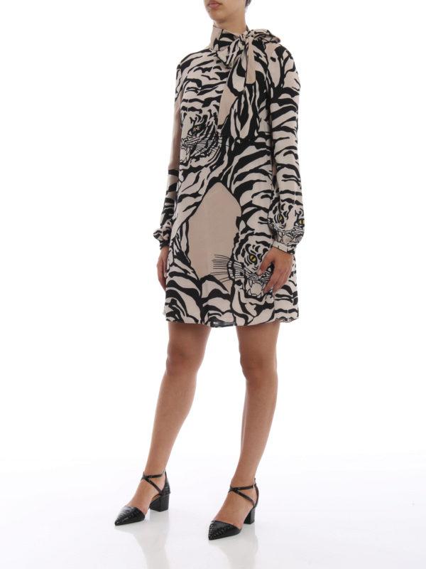 VALENTINO: Kurze Kleider online - Kurzes Kleid - Gemustert