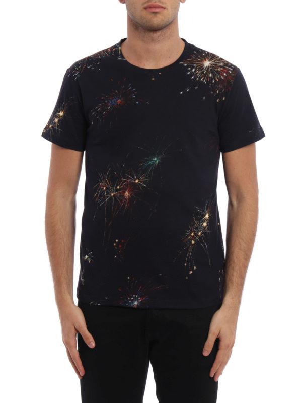 VALENTINO: T-shirts online - T-Shirt - Dunkelblau