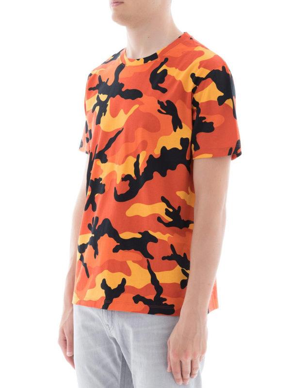 VALENTINO: T-shirts online - T-Shirt - Orange