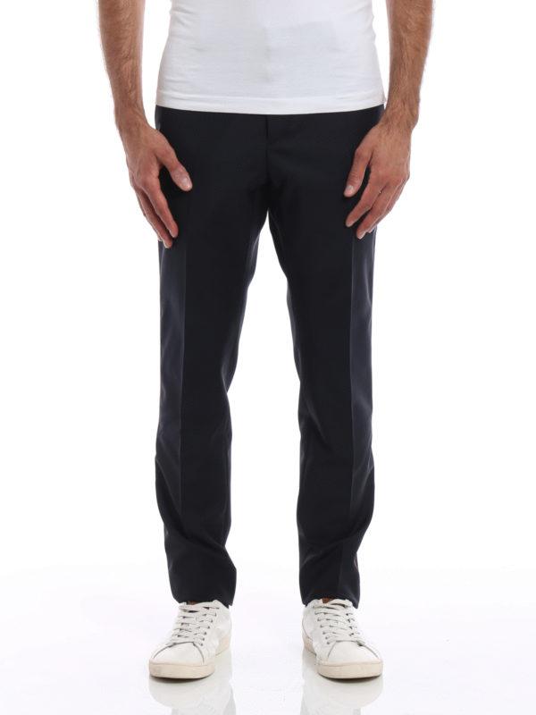 Valentino: Maßgeschneiderte und Formale Hosen online - Formale Hose - Dunkelblau