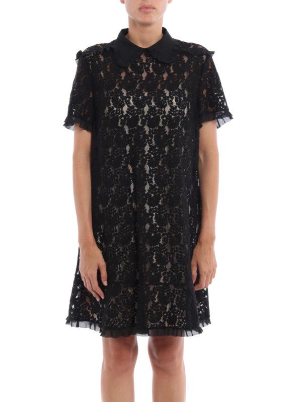 Valentino Red: Kurze Kleider online - Kurzes Kleid - Einfarbig