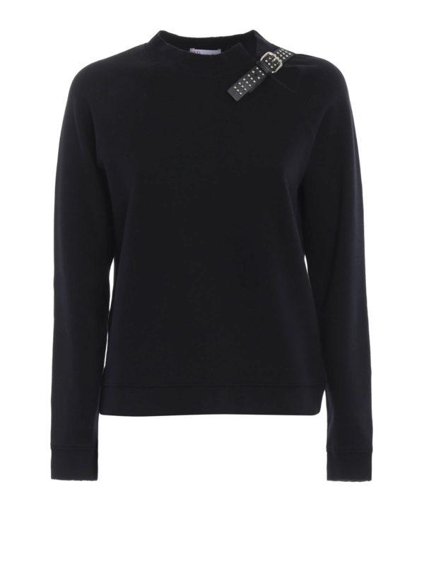 VALENTINO RED: Sweatshirts und Pullover - Sweatshirt - Schwarz