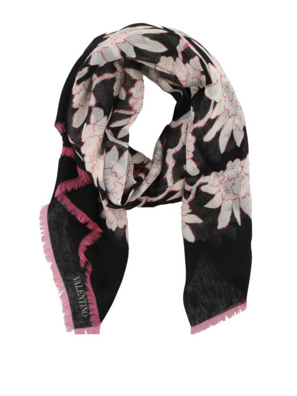 VALENTINO: Bufandas y pañuelos - Bufanda - Estampado