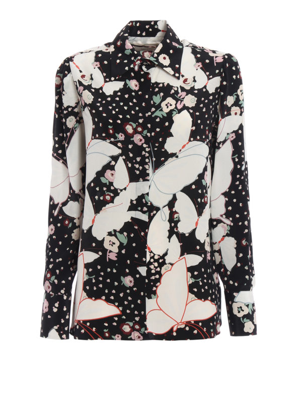 Valentino: Hemden - Hemd - Gemustert